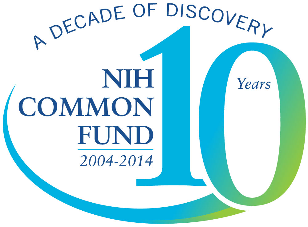 10 years logo nih common fund 10 year commemoration 8421