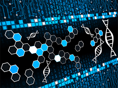 DNA structure graphic
