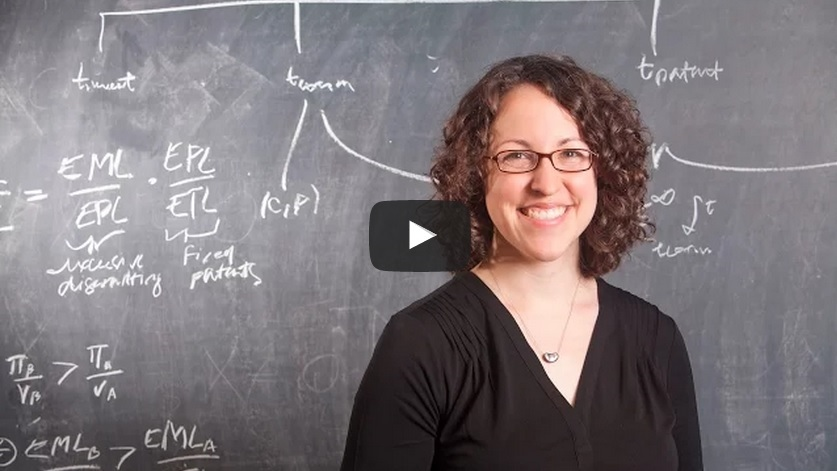 Video: Economist Heidi Williams, 2015 MacArthur Fellow