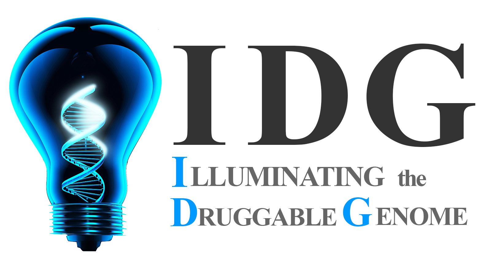 IDG logo banner showing light bulb with dna filament