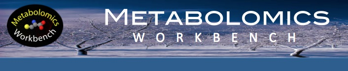 Metabolomics Workbench Banner