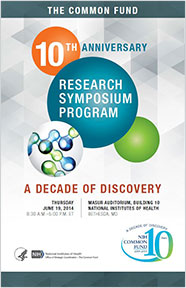 Common Fund 10th Anniversary Research Symposium Program Cover