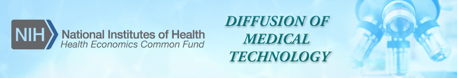 Diffusion of Medical Technology Meeting Banner with NIH Logo