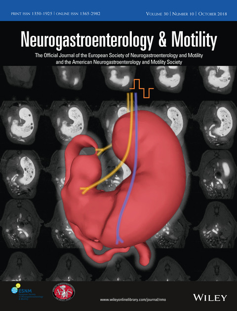 Cover of Neurogastroenterology & Motility