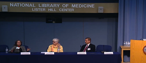 Panelists discussing ethical and regulatory issues in pragmatic clinical trials