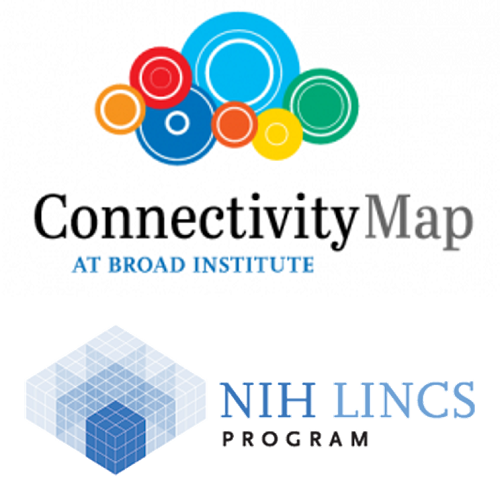 Logos of Connectivity Map at Broad Institute and the LINCS Program