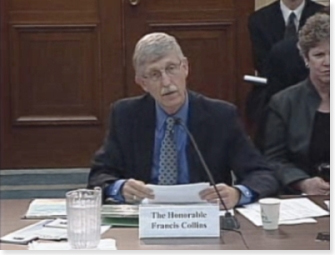 NIH Director Francis Collins, M.D., Ph.D