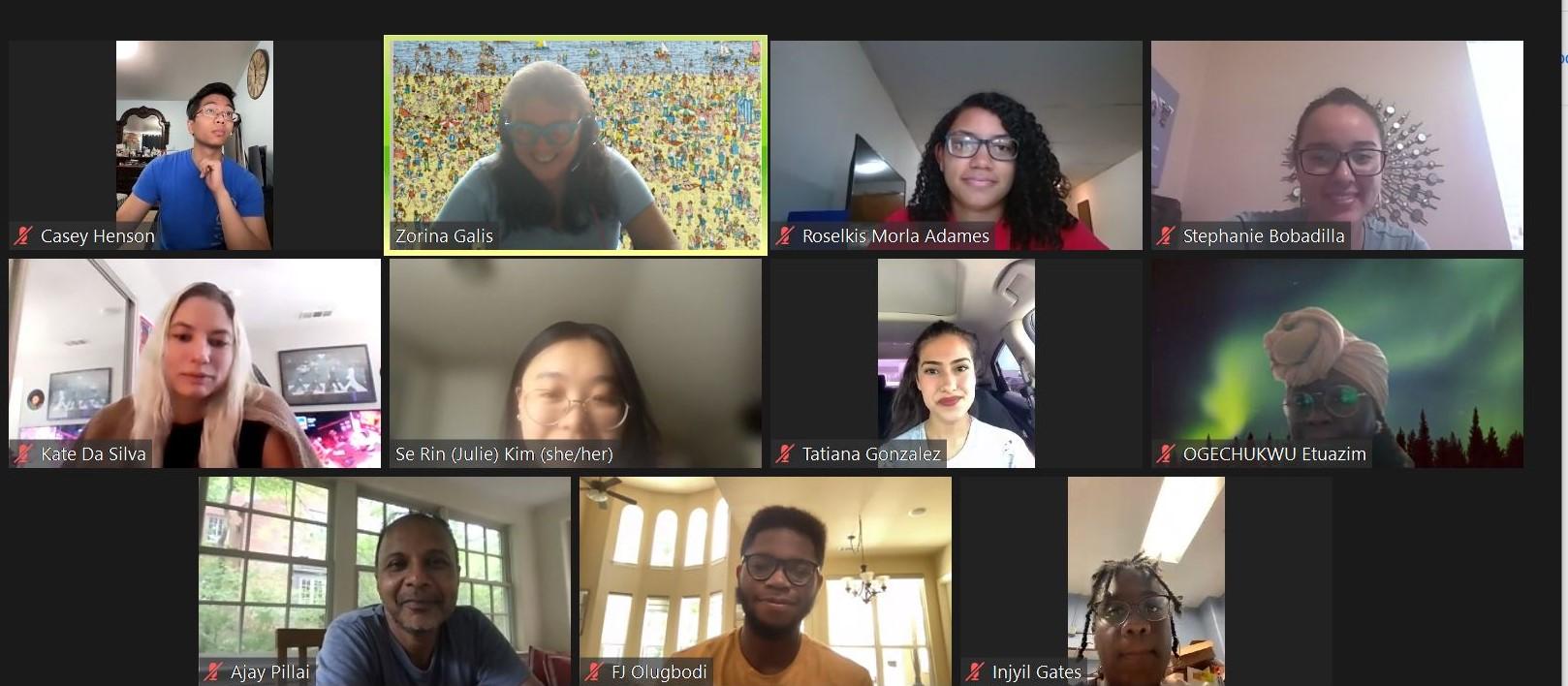 Summer Students from HuBMAP's Underrepresented Student Internship Program