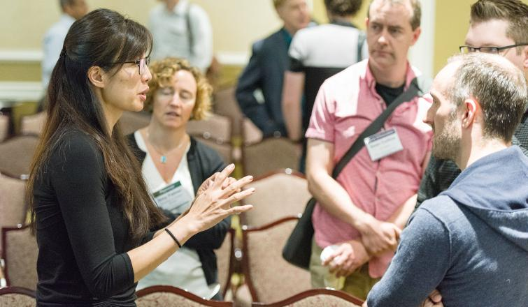 2018 HRHR Symposium Networking photo