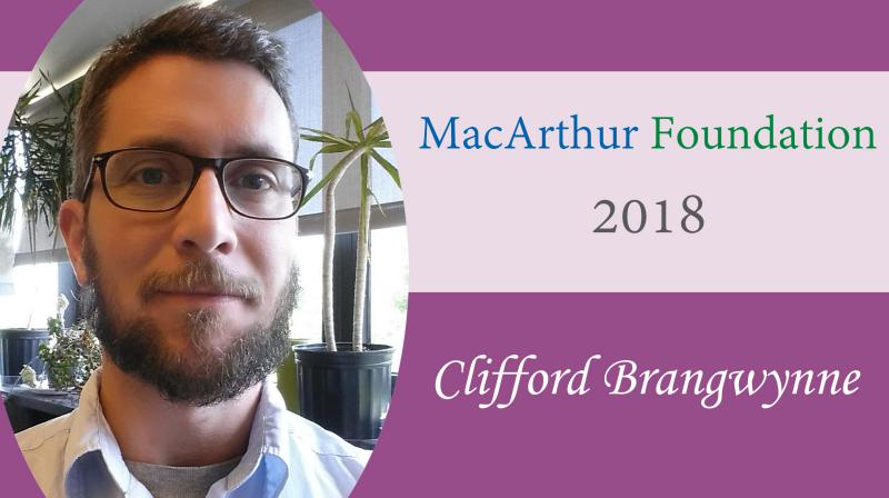 2018 MacArthur Fellow Clifford Brangwynne