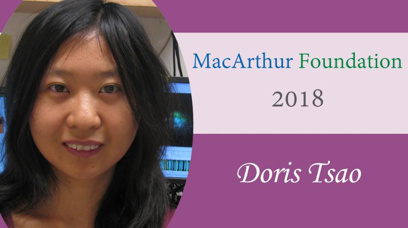 2018 MacArthur Fellow Doris Tsao