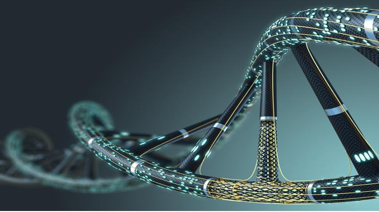 Artificial DNA molecule, the concept of artificial intelligence