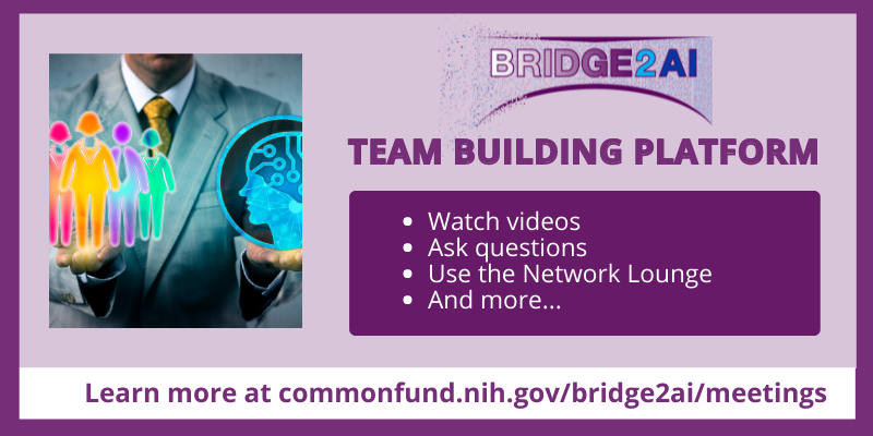 Bridge2AI Team Building Platform