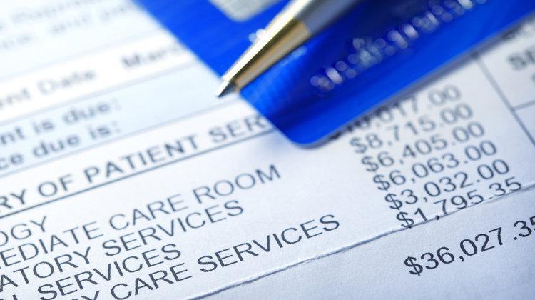 Credit Card On Hospital Bill