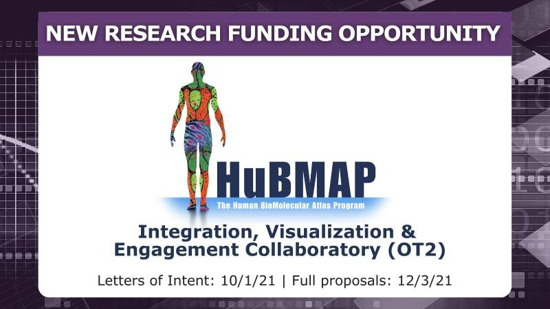 HuBMAP HIVE Funding Opportunity - Letters of Intent Due 10/1