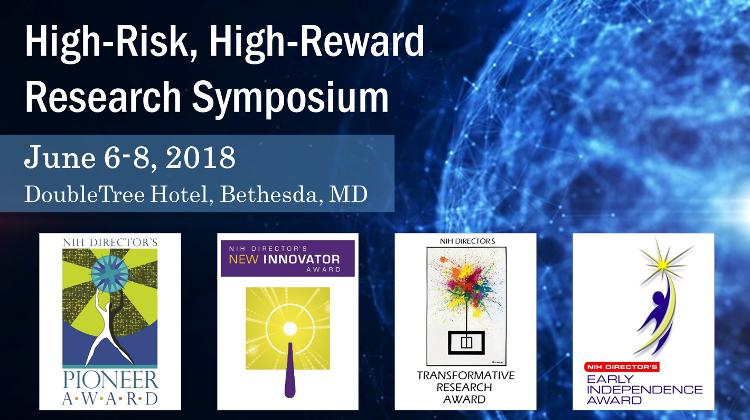 High-Risk, High-Reward Research Symposium 2018 graphic