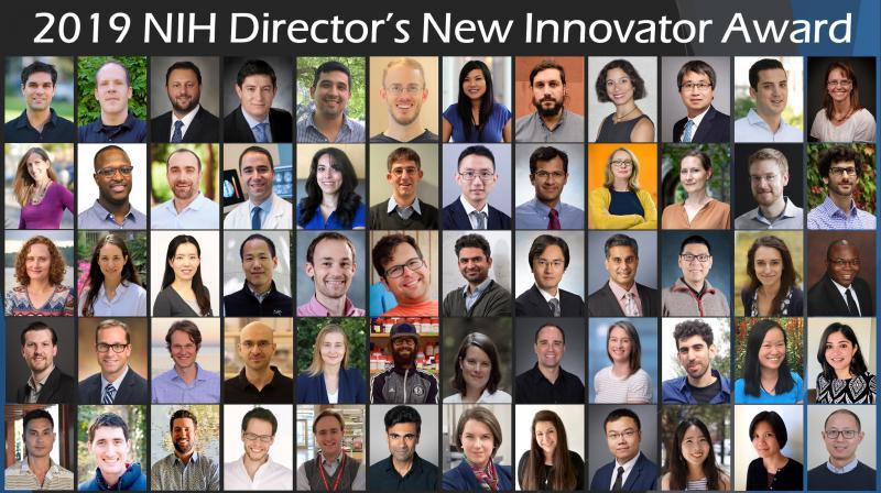 2019 New Innovator awardees