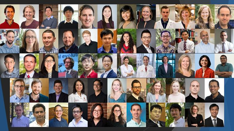 Collage of 2018 NIH Director's New Innovator Award recipients