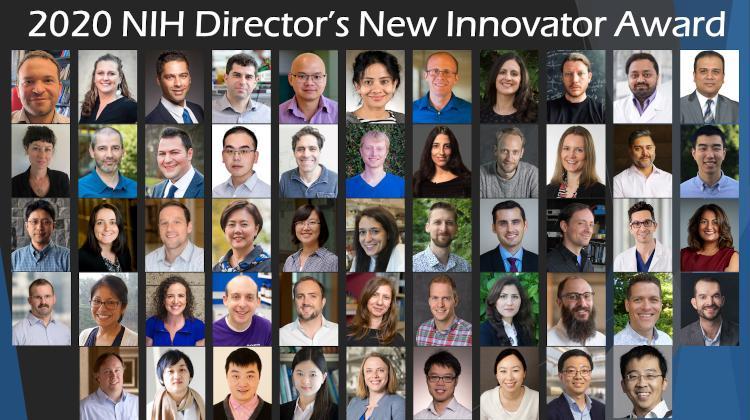 2020 New Innovator Award Collage