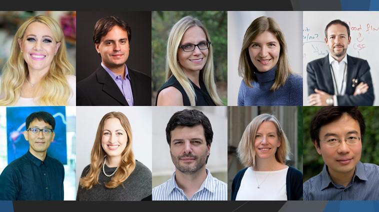 Collage of 2018 NIH Director's Pioneer Award recipients