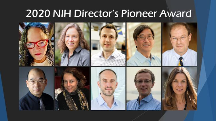 2020 Pioneer Award Collage