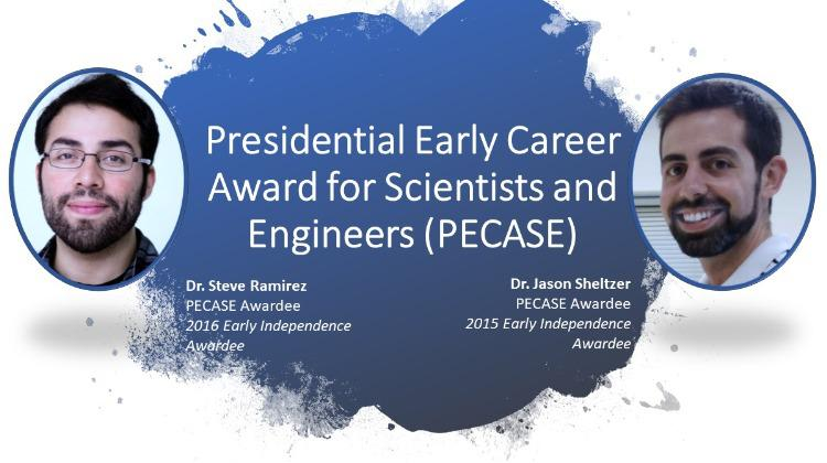 PECASE Awardees Drs. Steve Ramirez and Jason Sheltzer