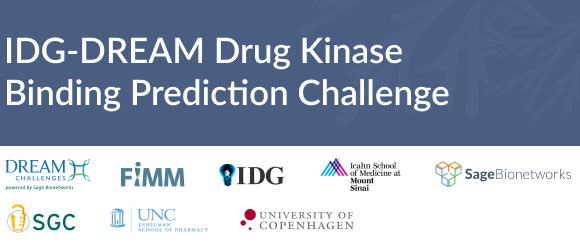 IDG Dream drug kinase binding prediction challenge picture