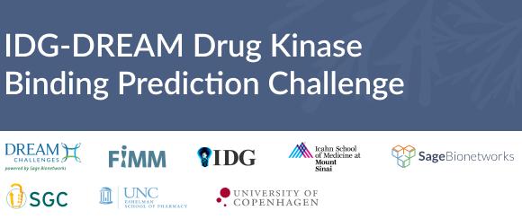 IDG Dream drug kinase binding prediction challenge picture
