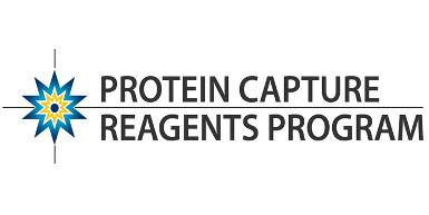 An image that says Protein Capture Reagents Program