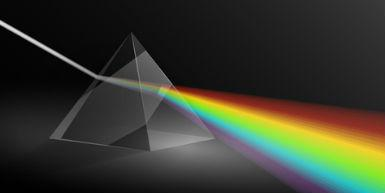 An image of a prism