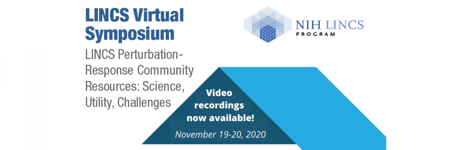 LINCS Virtual Symposium recordings now available