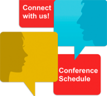 Connect with us! Conference Schedule