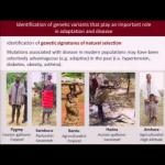 HGP10 Symposium: African Integrative Genomics: Implications for Human Origins... - Sarah Tishkoff