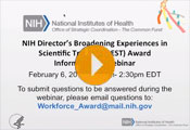 NIH Director's Broadening Experiences in Scientific Training (BEST) Award Informational Webinar